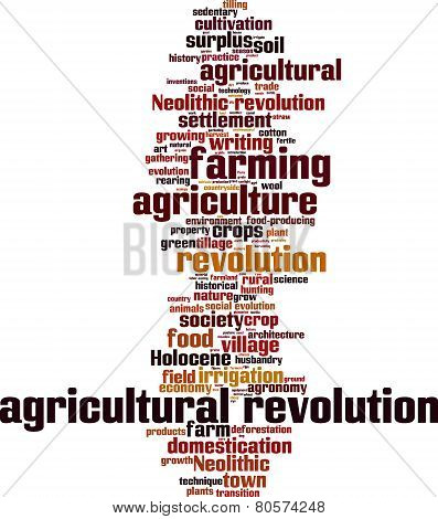 Agricultural Revolution Word Cloud