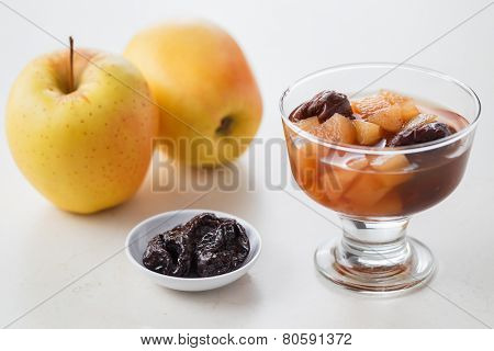Apple and Prune Compote