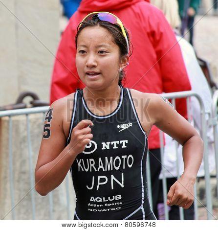 Aoi Kuramoto Running