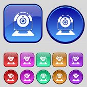 foto of video chat  - Webcam sign icon - JPG