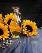 stock photo of sunflower-seeds  - Sunflowers - JPG