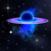 picture of gravity  - A Black Hole - JPG