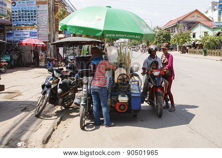 Ice Creams Seller