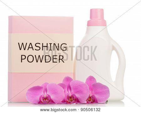 Washing powder and bottle