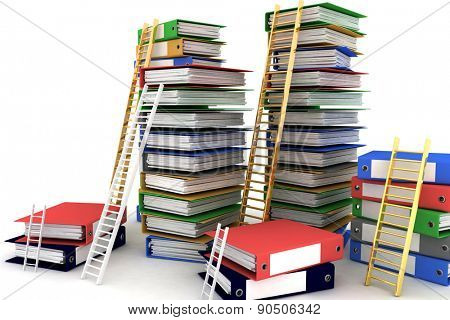 Folders and ladders. Conception of career advancement