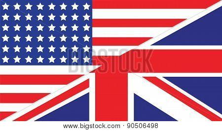 American Uk Flag