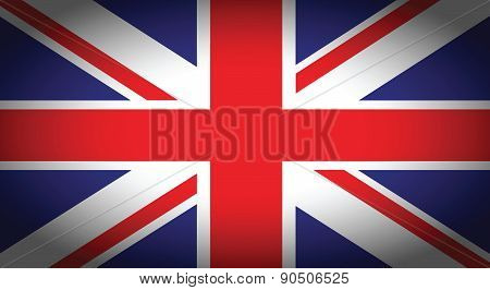 Uk Faded Flag