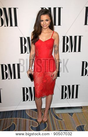 LOS ANGELES - MAY 12:  Cher Lloyd at the BMI Pop Music Awards at the Beverly Wilshire Hotel on May 12, 2015 in Beverly Hills, CA
