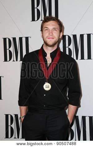 LOS ANGELES - MAY 12:  Phillip Phillips at the BMI Pop Music Awards at the Beverly Wilshire Hotel on May 12, 2015 in Beverly Hills, CA