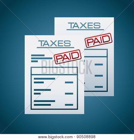 taxes concept