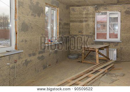 Windows In Walls Of Fibrolite Plates
