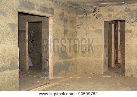 Doorways In Walls Of Fibrolite Plates