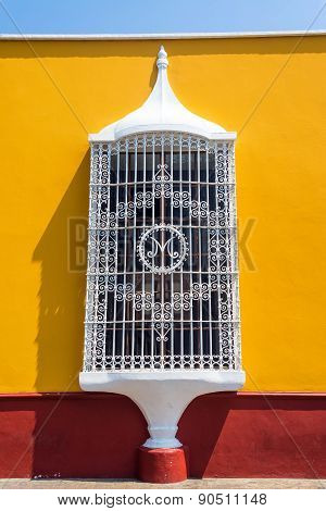 Colonial Architecture In Trujillo, Peru