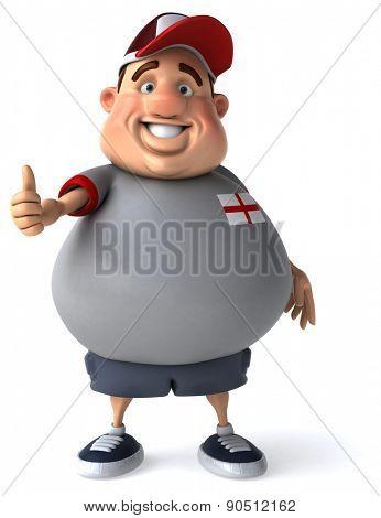 Overweight guy