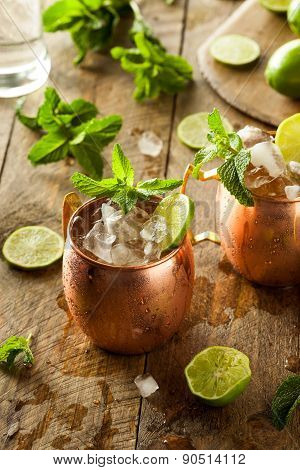 Icy Cold Moscow Mules