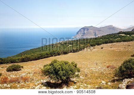 Landscape, Sicily, Italy.