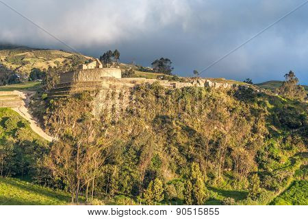 Ingapirca, Largest Known Inca Ruins In Ecuador