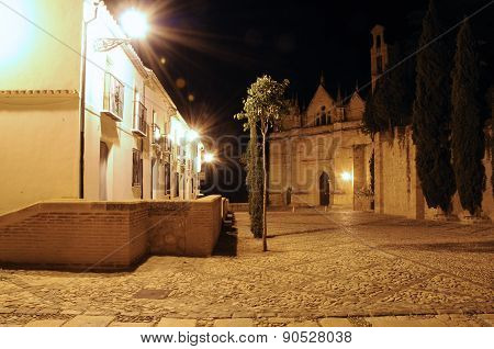 Plaza de Santa Maria, Antequera.