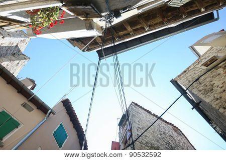 Buildings From Below In Rovinj