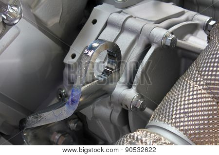 The Part Of The Engine.