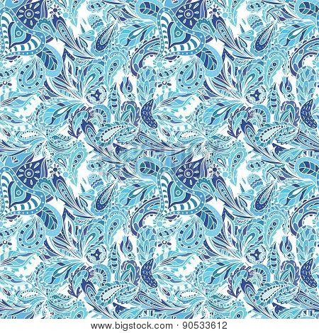 Blue Vector Creative Pattern
