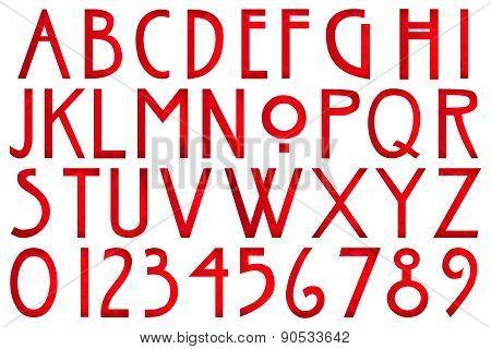 American Horror Alphabet