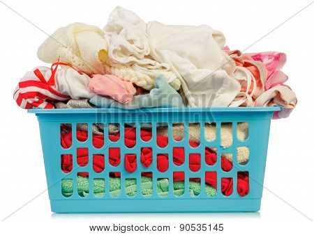Dirty Clothes in basket