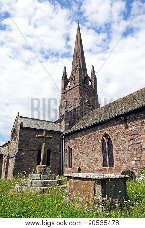 Weobley Church.