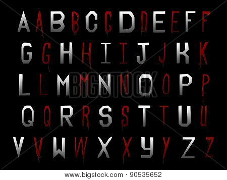 True Blood Halloween Alphabet