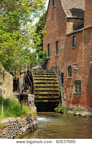 Working Water Mill, Lower Slaughter.