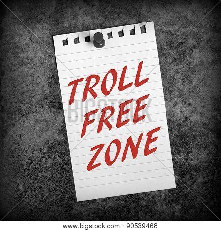 Troll Free Zone