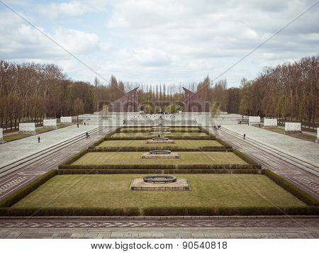 Soviet Monument In The Berlin