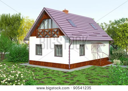 Cottage for recreation2
