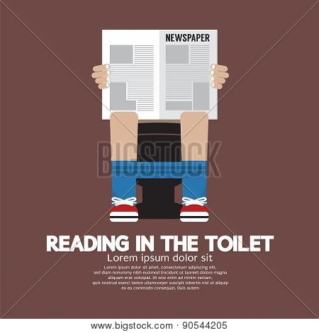Reading In The Toilet.