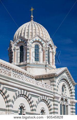 Catholic Basilica Notre Dame De La Garde.
