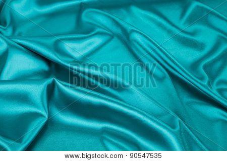 Light blue silk texture cloth.