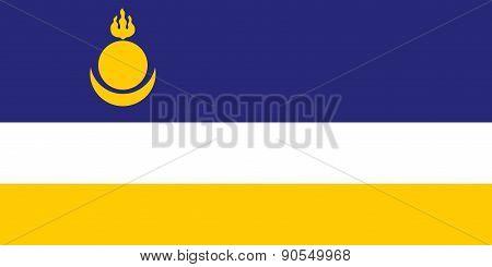Buryatia Flag