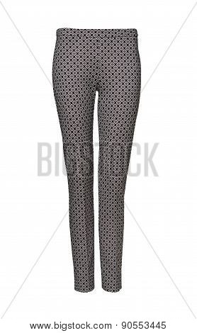 Womans Pants With Clipping Path