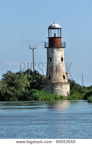 Abandoned Lighthouse Of Sulina, Danube Delta