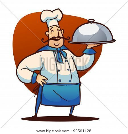 cartoon cook character