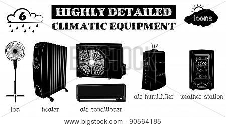 climatic equipment  black