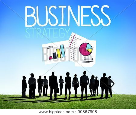Business Investment Analysis Benefits Goals Success Concept