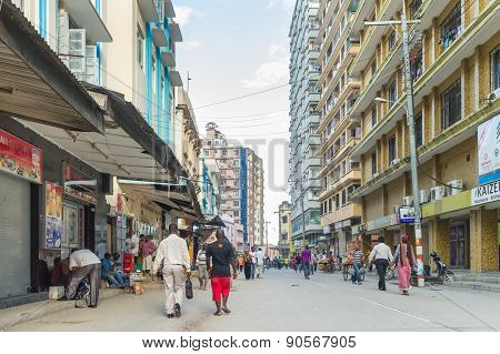 Downtowm Dar Es Salaam
