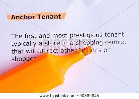 Anchor Tenant