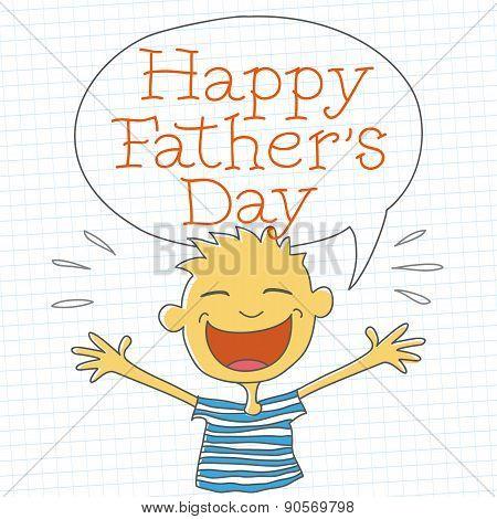Happy Father's Day Boy