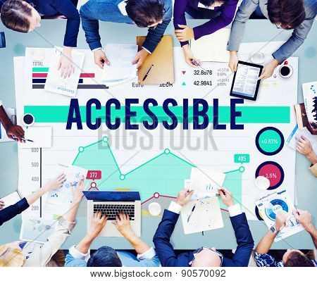 Accessible Usable Available Concept