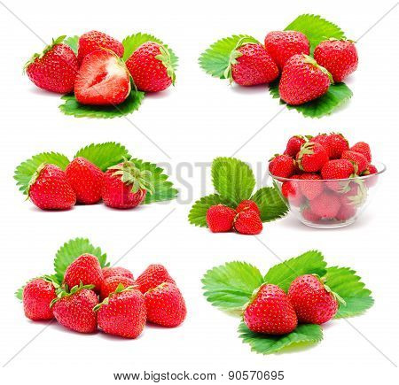 Collection Of Photos Perfect Ripe Strawberry