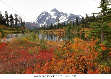 Fall At Mount Baker