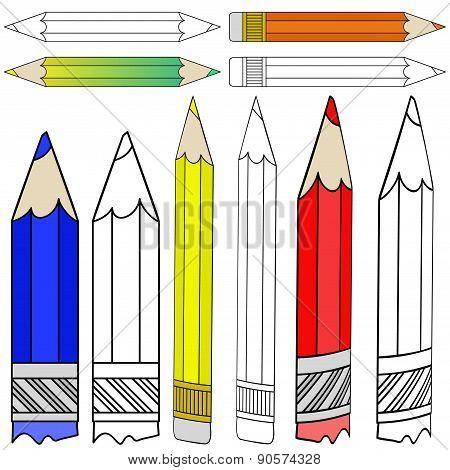 Set Of Pencils