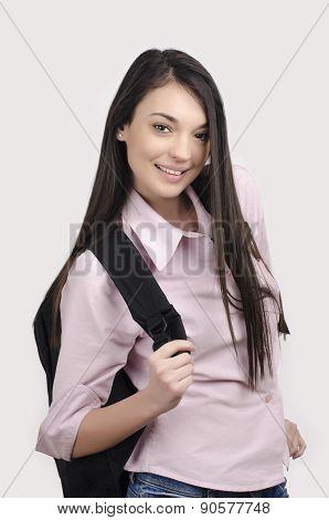 Happy Student Back To School.